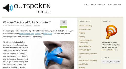 Outspoken Media