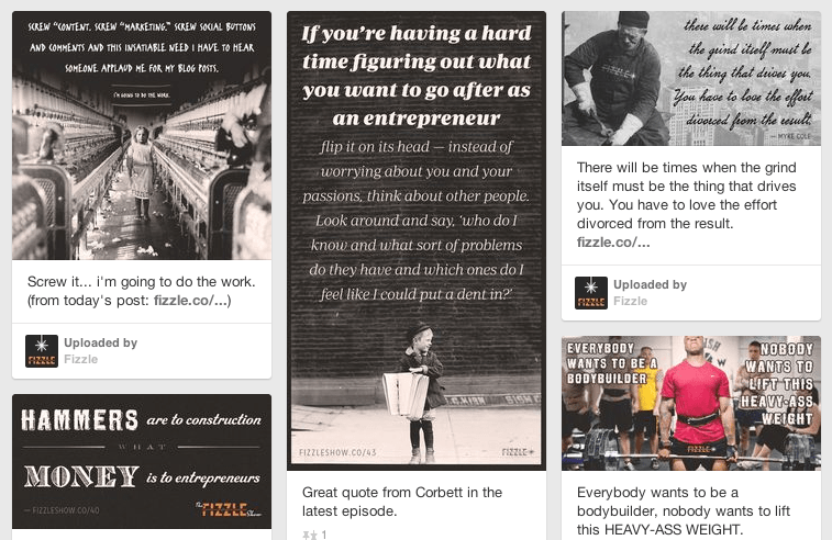Pretty Cool Pinterest Page