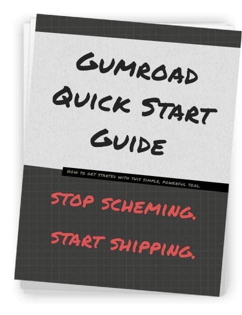 Gumroad Quick Start — get started selling online