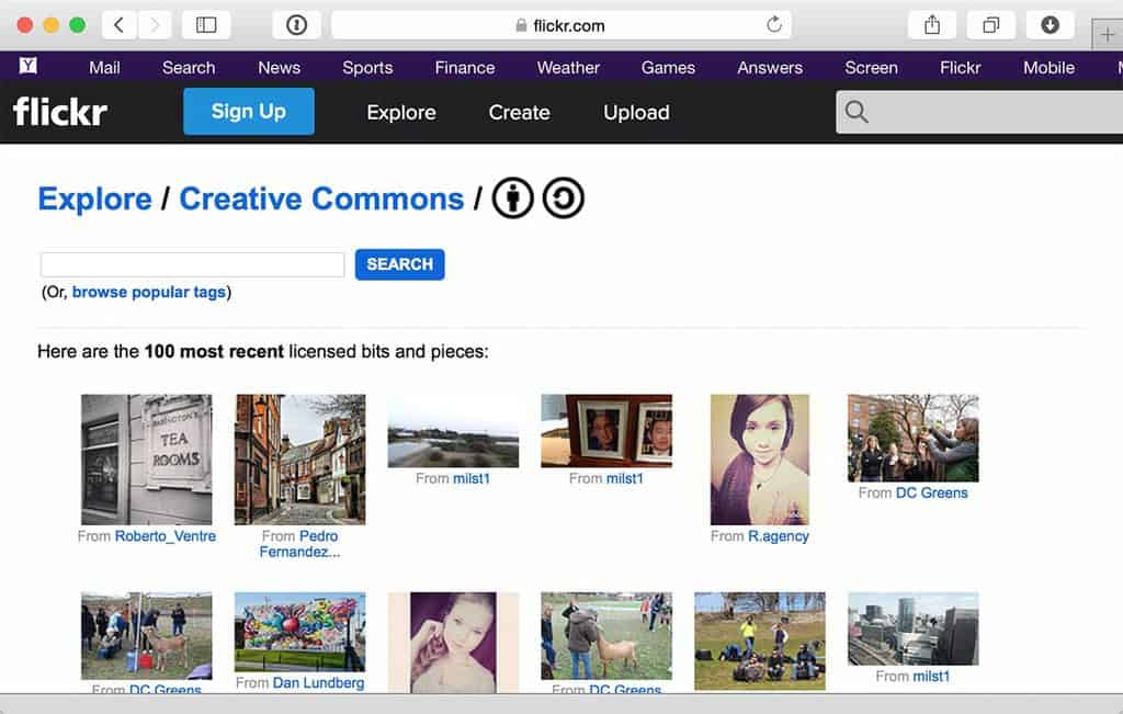 Flickr.com/CreativeCommons