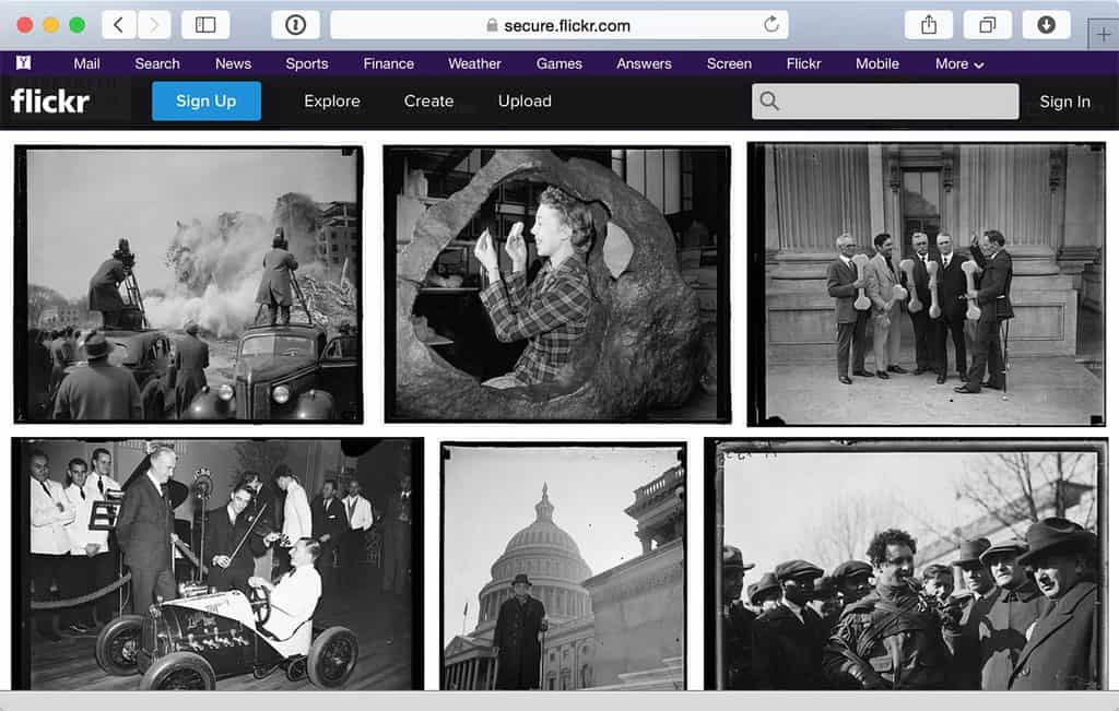 Library of Congress Flickr