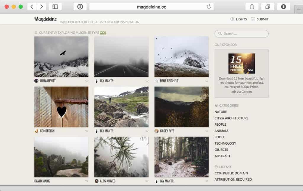 Magdeleine.co/browse