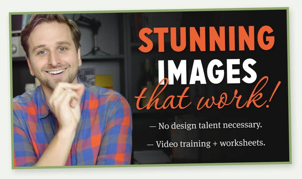 shareable images for blogs and social media course
