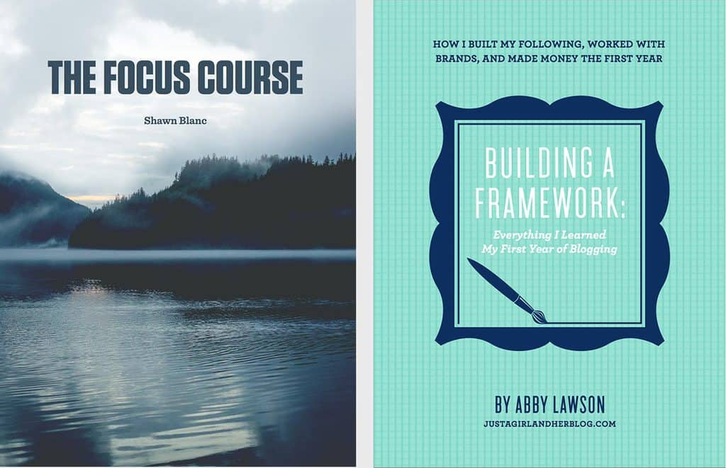 shawn blans focus course and abby lawson's building a framework