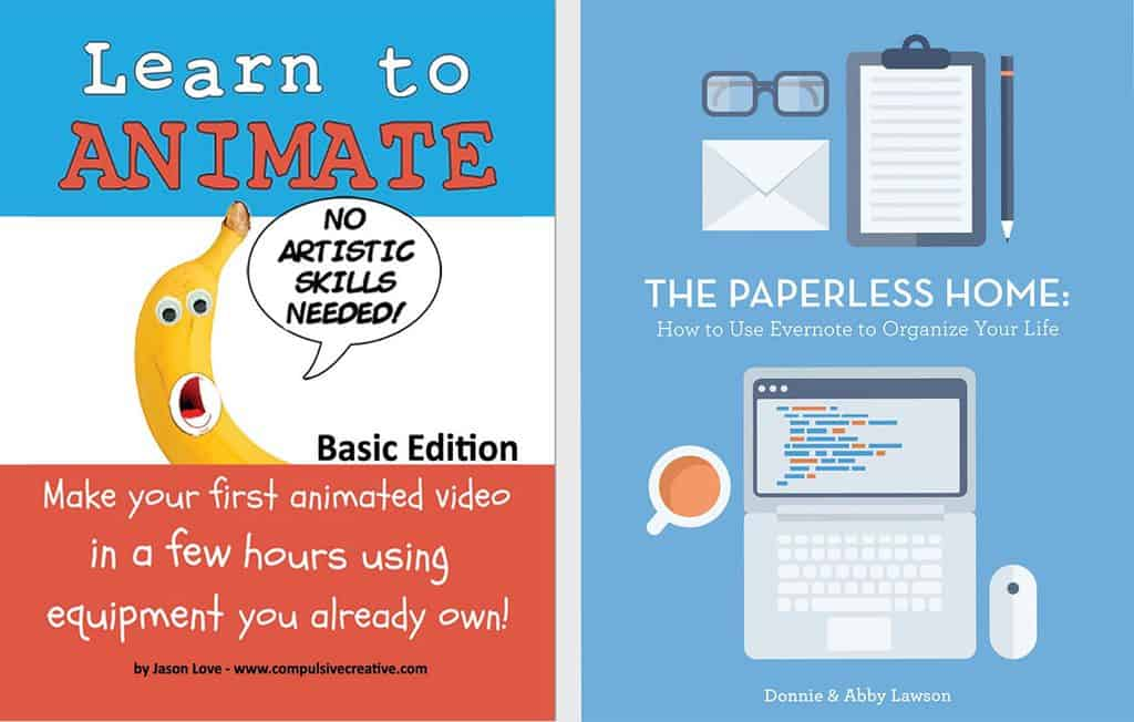 Jason Love's Learn to Animate and Donny Lawson's The Paperless Home