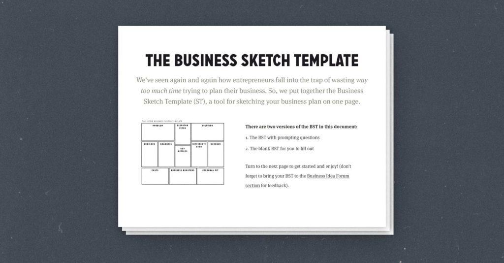 How To Create A Simple Effective One Page Business Plan
