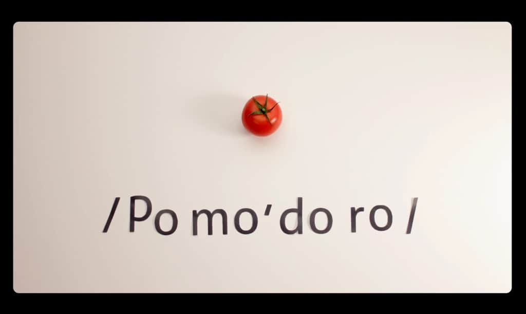 Click to watch a video of the Pomodoro Technique