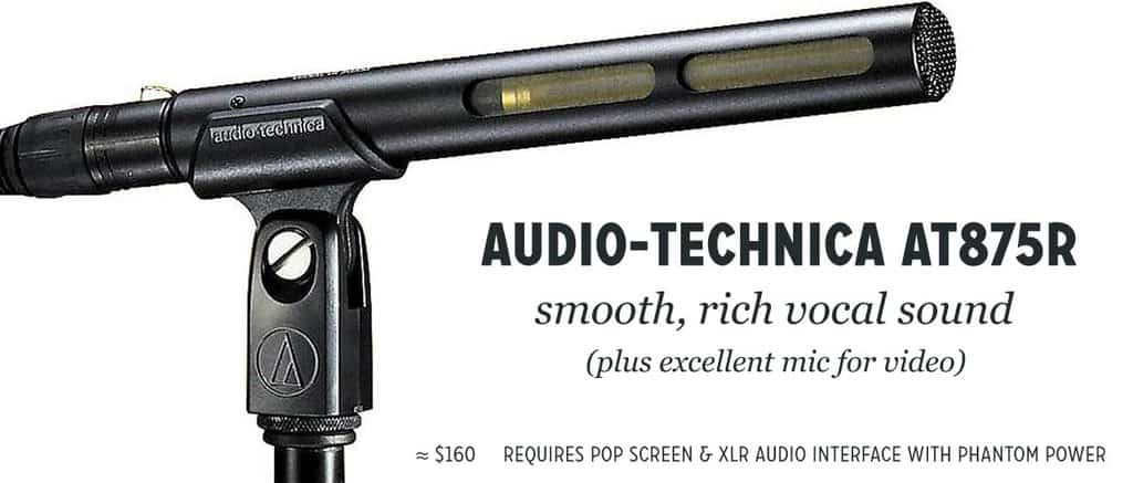 Audio-Technica AT875R microphone review