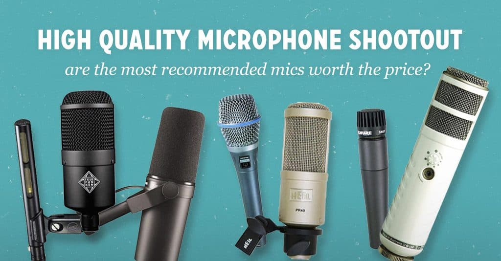 The Podcaster's High Quality Microphone Shootout