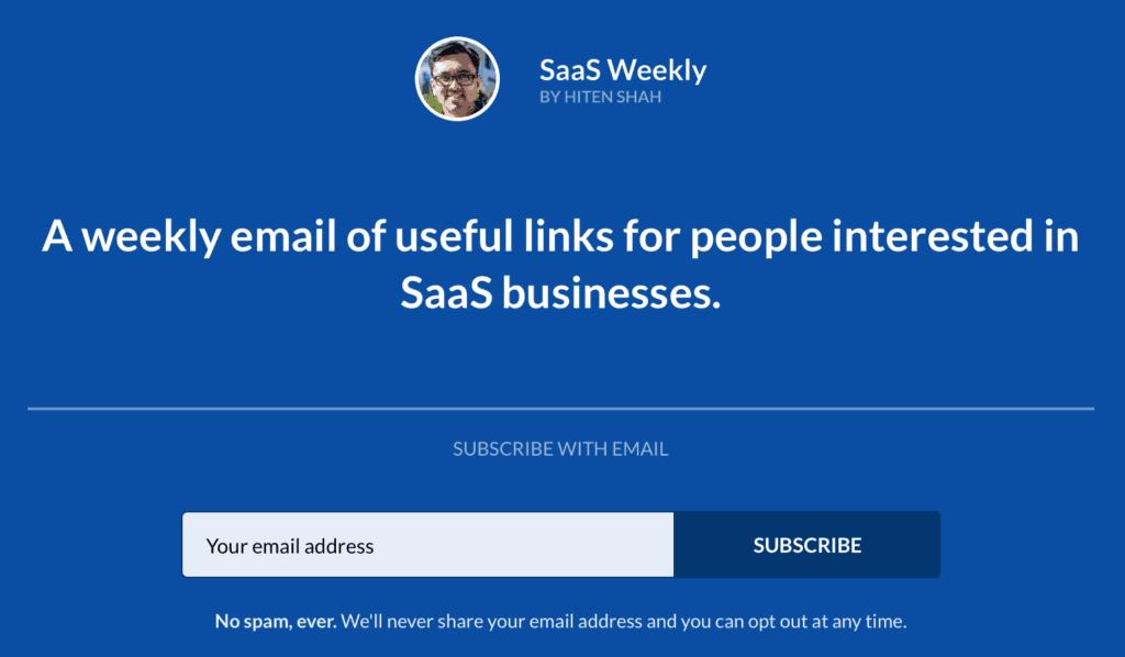 SaaS Weekly