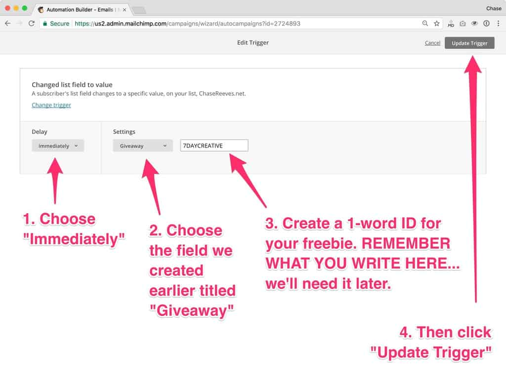 How to Setup Multiple Opt-In Freebies With Mailchimp